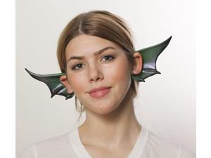 Cosplay Flexi Ears Costume Accessory Winged Dragon Gargoyle Green