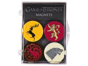 Game Of Thrones House Sigil 4 Pack Magnet Set