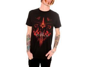Diablo III Burning T Shirt Black Small