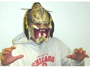 Predator 3/4 Vinyl Mask - Adult