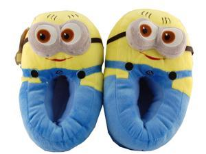 Despicable Me 2 Minion Dave 2 Eyed With Closed Mouth Child Slippers