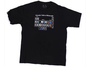 Minecraft Periodic Table Premium T-Shirt Medium