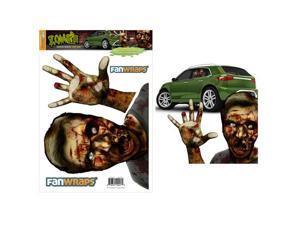 Fanwraps Zombie Window Buddies Decal Gory Gary