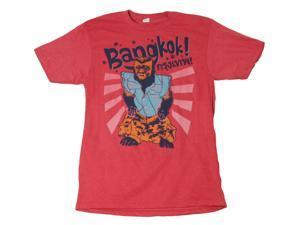 Hangover 2 Bangkok Monkey Red Adult T-Shirt Medium