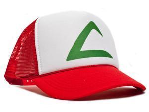 Pokemon Ash Ketchum Cartoon Hat Cap Trucker Baseball Snapback