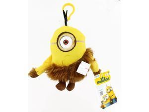 "Minion Movie 5"" Clip On Plush: Jungle Minion (1 Eye)"