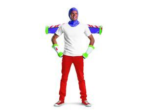 Toy Story Buzz Lightyear Adult Costume Kit One Size Fits Most