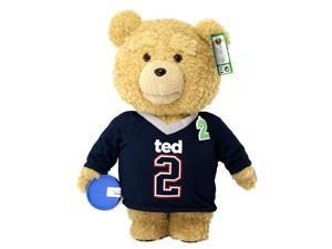 "Ted 2 Movie-Size 24"" Talking Plush Ted in Jersey *Explicit*"