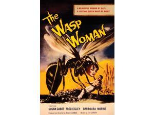 "Spooky Scenes Movie Poster Wall Sticker The Wasp Woman 11"" X 17"""