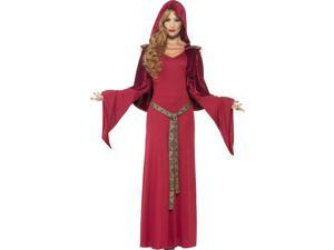 High Priestess Red Adult Costume Dress Small
