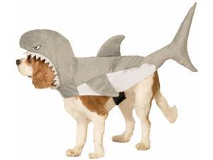 Plush Shark Pet Costume Small