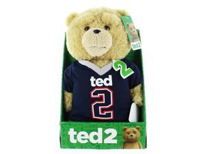 """Ted 2 11"""" Talking Plush Ted In Football Jersey (Rated R)"""