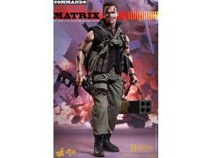 Commando Hot Toys 1/6th Scale Movie Masterpiece Action Figure John Matrix