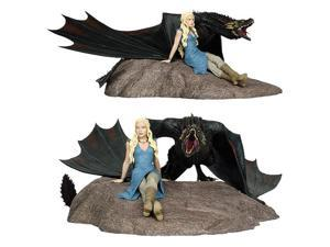 "Game of Thrones: Daenerys and Drogon 18"" Statue"