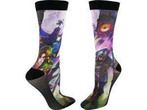 Legend of Zelda: Majora's Mask Men's Sublimated Crew Socks