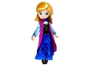 "Frozen 14"" Plush Backpack- Anna"