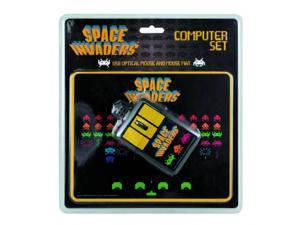 Space Invaders Computer Mouse and Pad