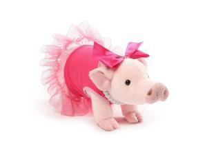 "Prissy and Pop 11"" Stuffed Animal Plush Prissy Mini Pig"