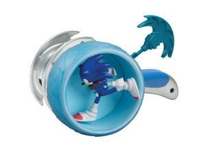 """Sonic Boom 3"""" Action Figure: Sonic with Ripcord Wheel Launcher"""