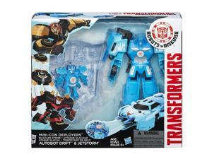 Transformers Robots In Disguise Minicon Deployer Autobot Drift & Jetstorm