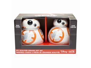 Star Wars The Force Awakens BB-8 Sculpted Ceramic Gift Set - Mug and Bank
