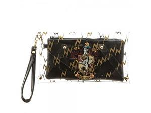 Harry Potter Gryffindor Crest Clear Envelope with Wristlet