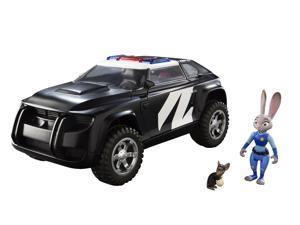 Disney Zootopia Deluxe Vehicle Judy Hopp's Police Cruiser