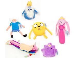 Adventure Time Plush Set Of 6