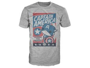 Marvel Funko POP Tee Captain America Fight For Justice Medium