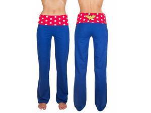 Wonder Woman Yoga Lounge Pants Large