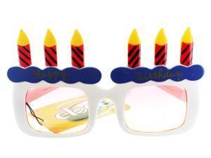 Happy Birthday Glasses Adult Accessory
