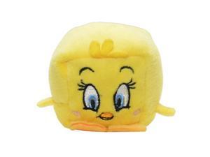 "WB Character Kawaii Cubes 2.25"" Plush: Tweety Bird"