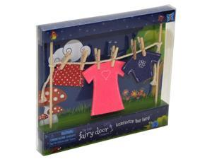 Irish Fairy Clothes Line with Female Clothes