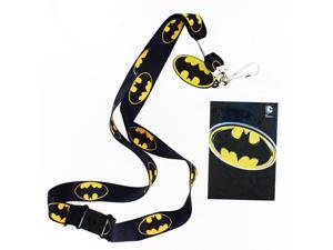 Batman Lanyard with Logo Charm