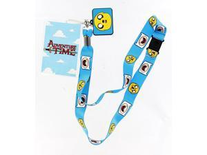 Adventure Time Lanyard with Jake Charm