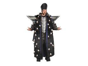 Alice Through the Looking Glass Time Replica Jacket with Epaulettes Men's Costume One Size