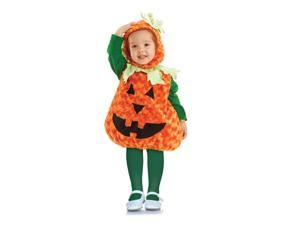 Belly Babies Pumpkin Costume Child Toddler X-Large 4-6