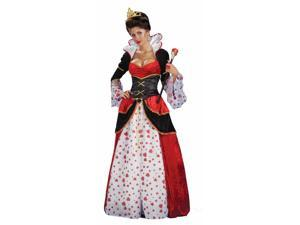 Alice In Wonderland Queen Of Hearts Costume Adult Standard