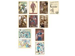 Marvel's The Avengers Agent Coulson's Vintage Captain America Trading Cards