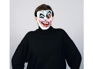 Clownin' Around Costume Masks Fancy Faces One Size