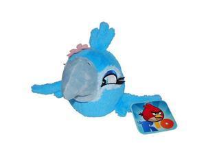 """Angry Birds Rio 8"""" Plush With Sound: Jewel Bird"""