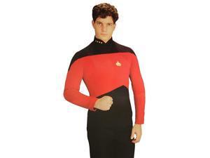 Star Trek The Next Generation Red Shirt Costume Adult X-Large
