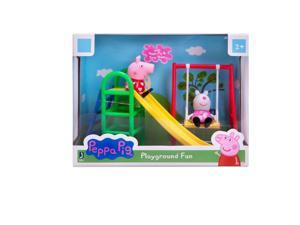 Peppa Pig Playground Fun Figure Playset with Peppa & Suzy