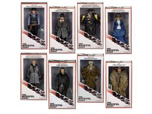 "The Hateful Eight Movie 8"" Action Figure Set Of 8"