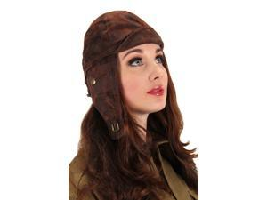 Steampunk Aviator Costume Helmet Hat Adult One Size