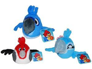 "Angry Birds 8"" Plush Rio Bird With Sound Set Of 3"