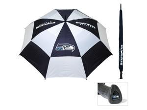 Team Golf 32869 Seattle Seahawks 62 in. Double Canopy Umbrella