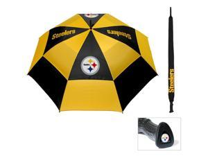 Team Golf 32469 Pittsburgh Steelers 62 in. Double Canopy Umbrella