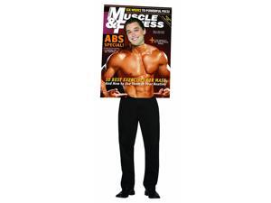 Muscle & Fitness Magazine Cover Adult Male Standard