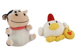Harvest Moon Tree Of Tranquility Plush Set of 2 with Cow and Chicken